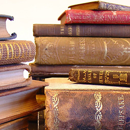 books-stacked-leather